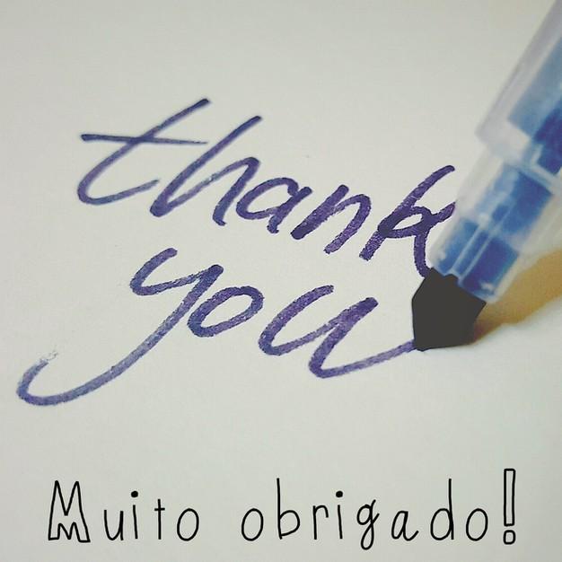 Frases de agradecimento