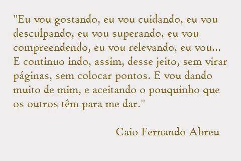 Caio Fernando Abreu frases
